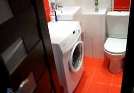 Окончательный вид обновленной ванной комнаты