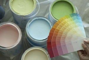 С помощью колера можно получить тысячи цветовых оттенков