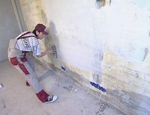 Подготовка стены к окраске