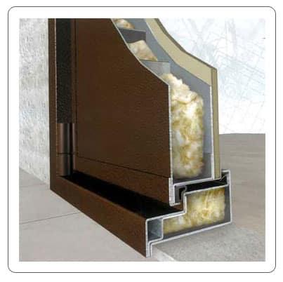 теплоизоляция на металлическую дверь
