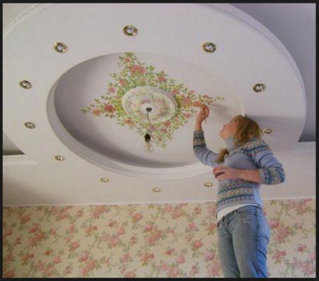 ремонт квартир ремонт потолка