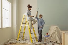 Проведение покраски стен