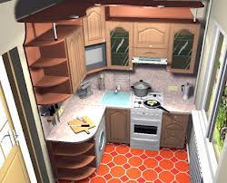 Интерьер малогабаритной кухни