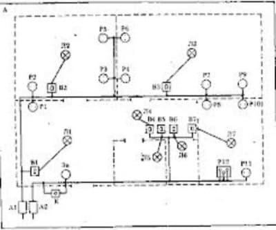Схема электропроводки (пример)