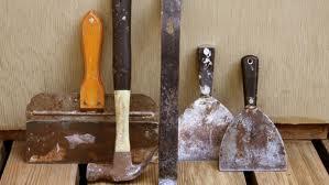 Инструменты, необходимые для шпаклевки стен