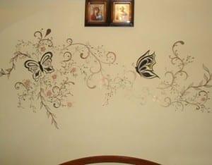 Элементы декора стен