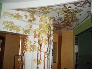 Художественная роспись в квартире