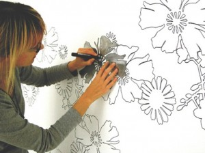 Декорирование стен своими руками — увлекательный процесс