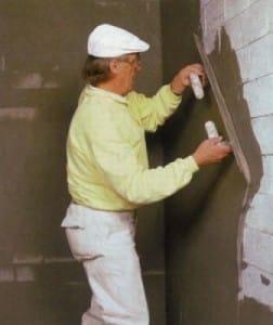 Оштукатуривание поверхности стены