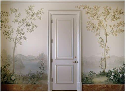 Декоративная роспись на стенах